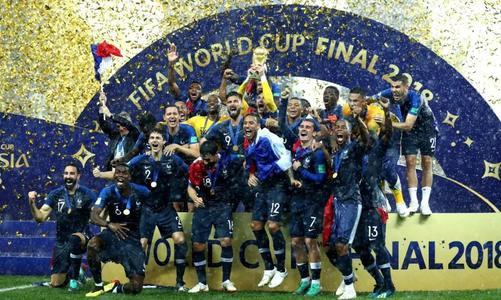 2018世界杯法国球迷的狂欢